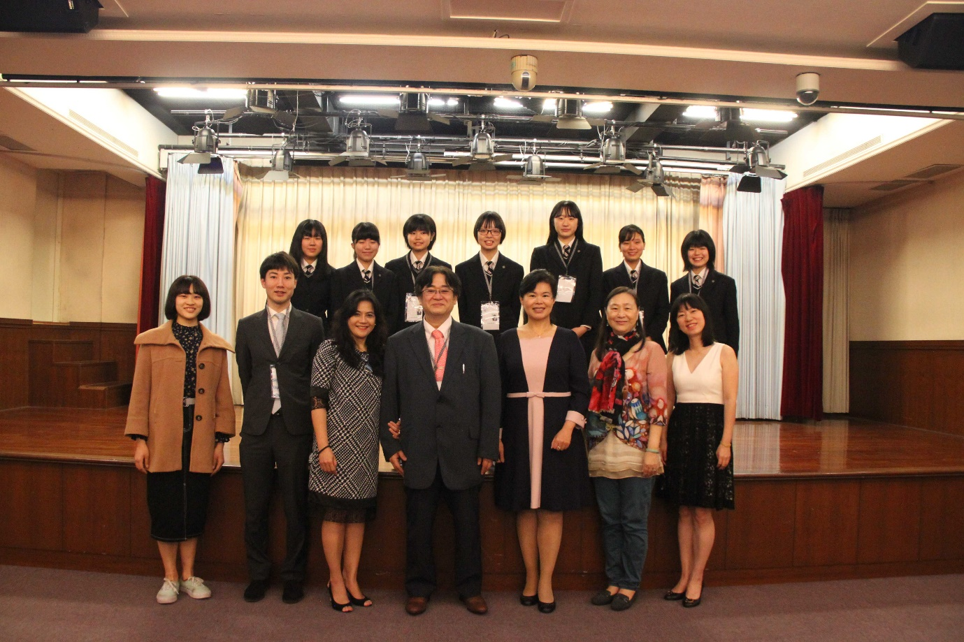 5th Anniversary of St. Ursula Eichi High School's Study Programme at Wenzao Ursuline University of Languages, hosted by the English Department